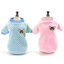 1PCS Dog Clothes For Small Dogs Chihuahua Yorkies Pug Coat Winter Clothing Pet Puppy Jacket Ropa Perro Pink S-2XL