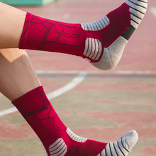 Basketball Socks Elite Outdoor Sports Cotton High-Quality New Men Towel-Bottom