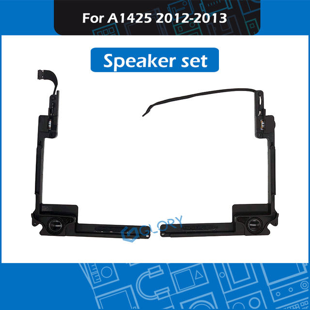"""New A1425 Speaker Set For MacBook Pro Retina 13"""" Late 2012 Early 2013 Left Right Internal Speaker Replacement EMC 2557 2672"""