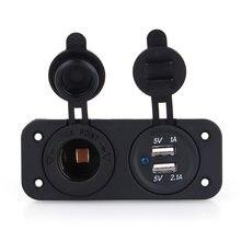 Мощность адаптер розетки устройство для автомобиля с двумя портами
