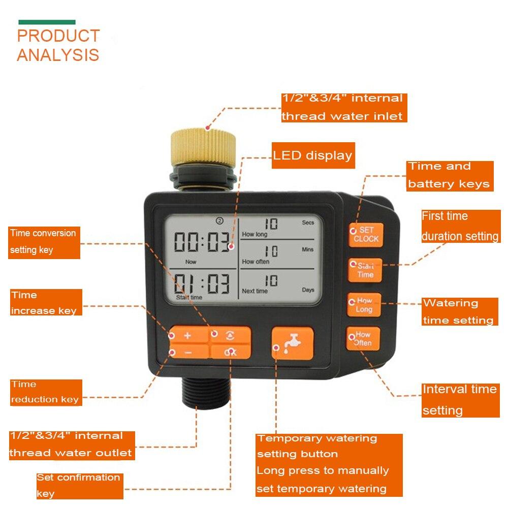15 м 8% 2F11 Micro Drip Орошение Наборы Автоматический Полив Система с LCD Экран Таймер% 2CСадоводство Зеленый Инструменты Для Посадки Цветы