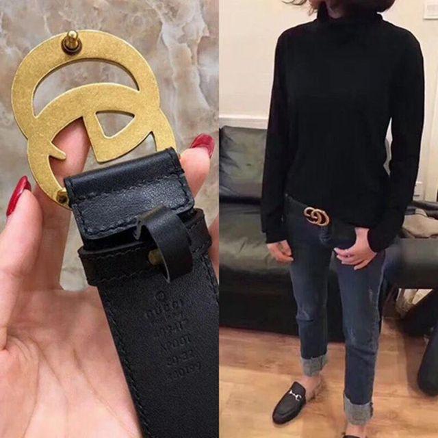 Fashion belt genuine leather