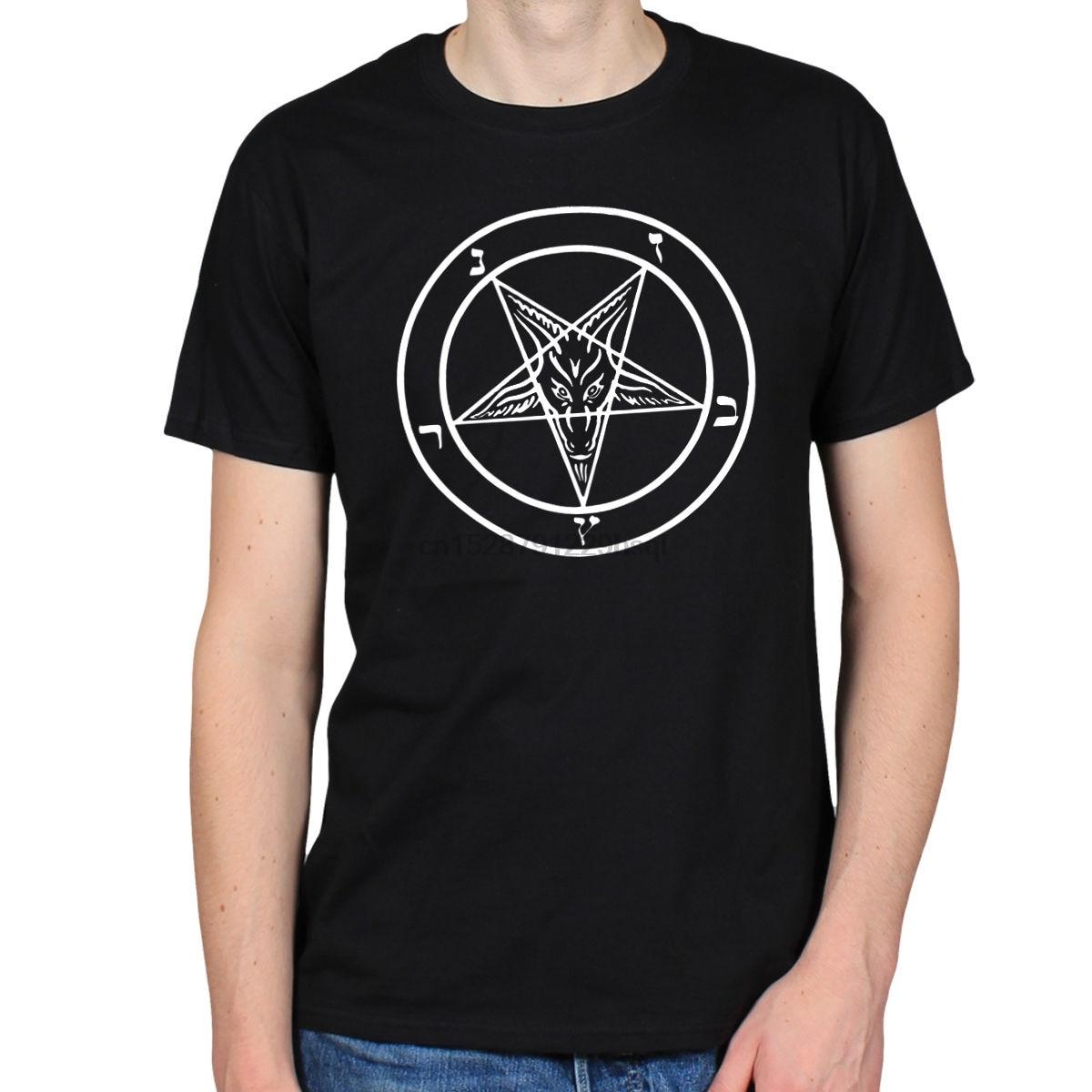 Pentagram T-Shirt Womens Ladies rock goth punk jumper metal gothic satanic
