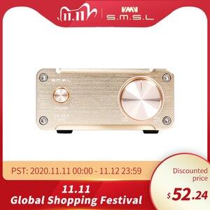 Image 1 - SMSL SA 36A Pro AMP HIFI Big Power Digital Integrated Tripath Stereo Amplifier with 12V 3.8A Power Adaptor Black Silver Gold