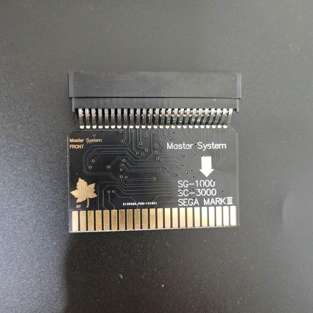 Sms2 sg1000 Sega ماستر نظام إلى Sega مارك الثالث (اليابان الإصدار) SG 1000 محول SC 3000 SMS إلى اليابان نسخة وحدة التحكم