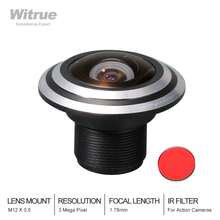 цена на Fisheye Lens CCTV Lens 3MP 1.78mm  M12  170 Degree Wide Viewing Angle F1.8 1/3