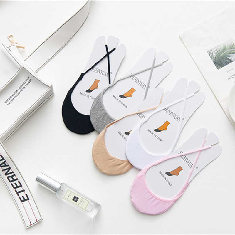 Simple Design Lace Women Slippers Socks Summer Breathable Invisible Boat Socks For Ladies Soft Comfortable Sox Calcetines Mujer