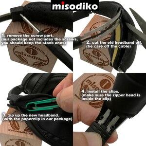 Image 5 - Misodiko Vervanging Hoofd Band Kit voor Bose Quiet Comfort 2 (QC2) en QuietComfort 15 (QC15), Hoofdtelefoon Reparatie Hoofdband Pad