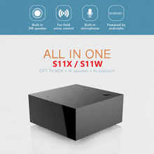 2020 Newest S11X streaming S11W smart android tv box 2G 16G