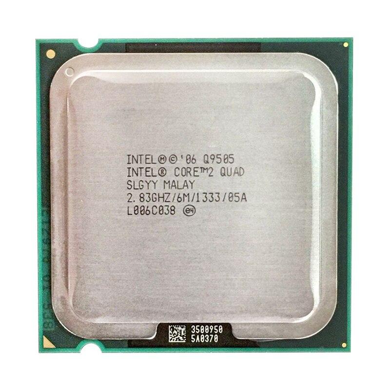 Intel Core 2 Quad Q9505 Q9505 Q 9505 2.8 GHz 4 Core 4 Threads ГГц четырехъядерный процессор Процессор 6M 95W LGA 775