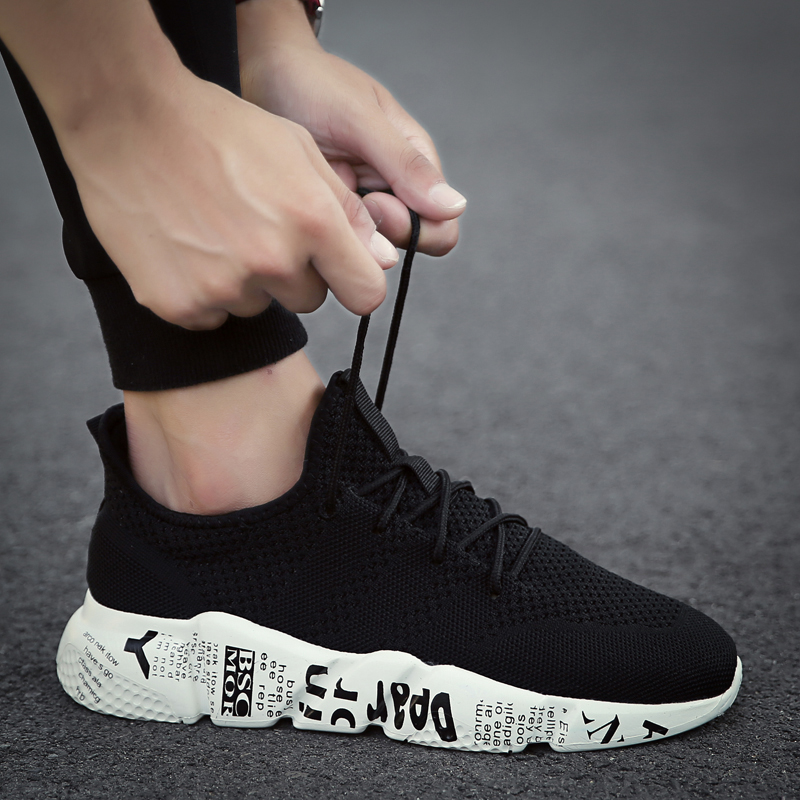 Limited Edition Men Running Shoes High Quality Sport Gym Training Sneakers Breathable Anti-skid Outsole Walking Shoes