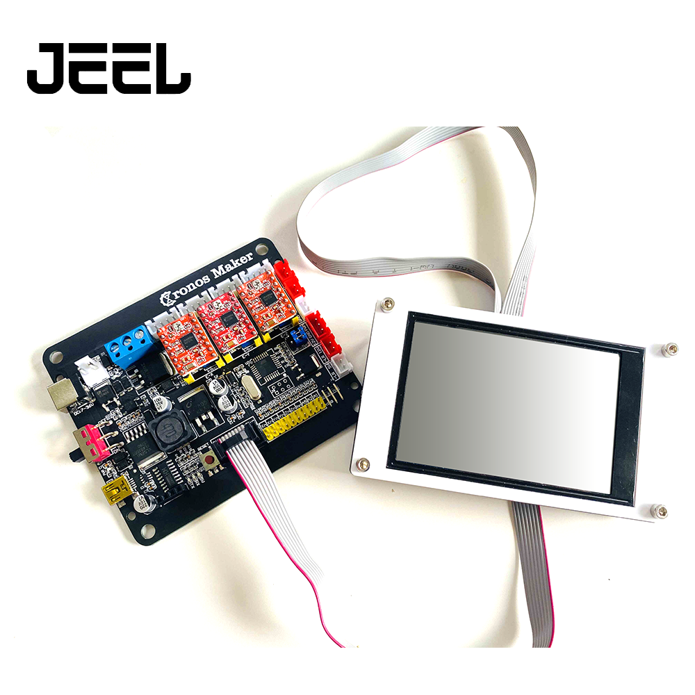 Upgraded 3 Axis Controller Board 4.0 Version  +3.5inch Offline GRBL USB Port CNC Engraving Machine Control Board For CNC 3018