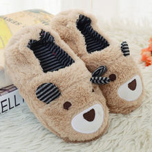 Toddler Baby Girl Kids Winter Slippers For Girls Children Boys Girls Slippers Kids Cartoon Flip Flops Kids Home Shoes Fur Slides(China)