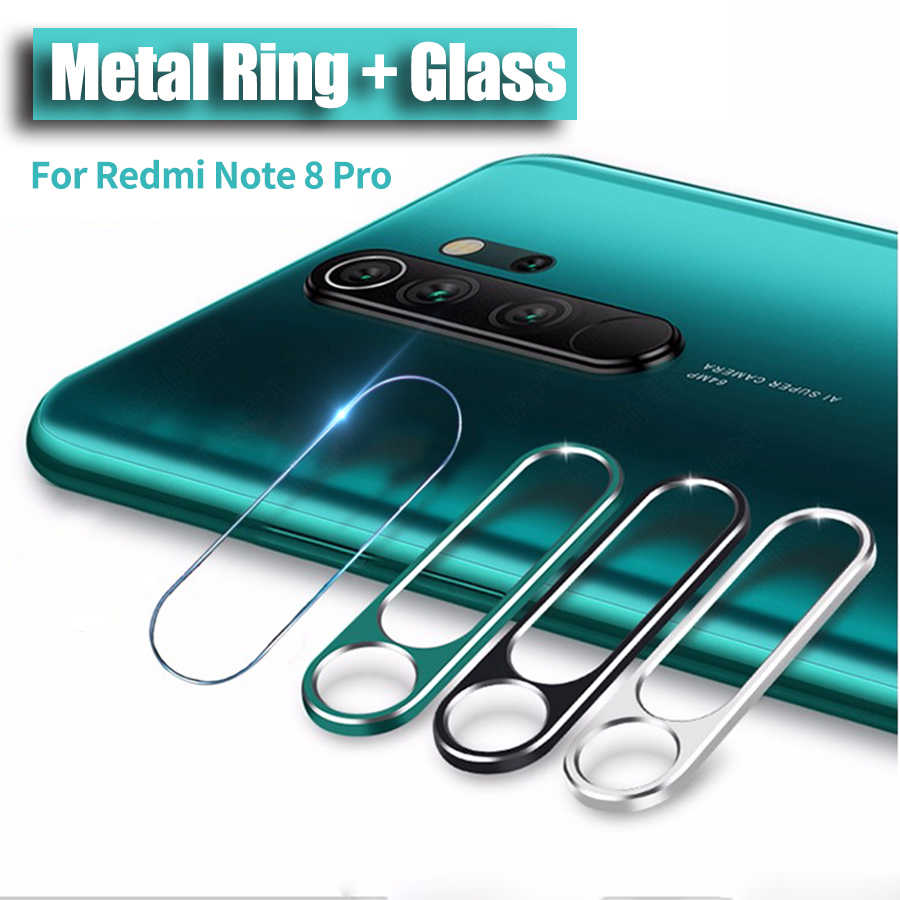 Camera Lens Tempered Glass For Xiaomi Mi 9T 8 9 SE A2 A3 CC9 Redmi Note 8 7 K20 Pro Glass Protector Camera Lens Ring Cover Case