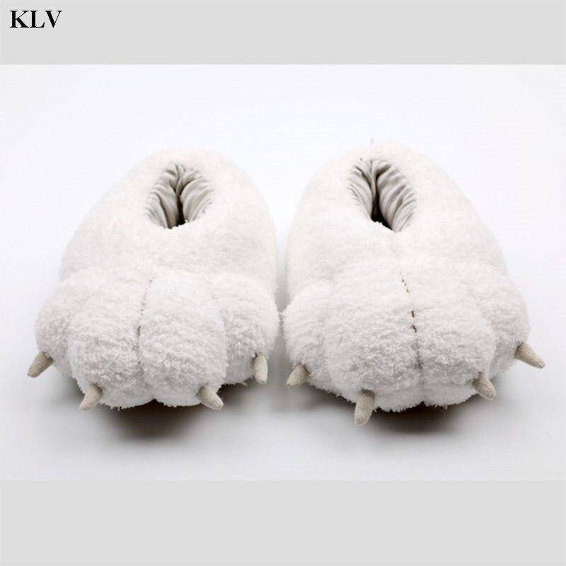 chinelos bonito dos desenhos animados urso polar