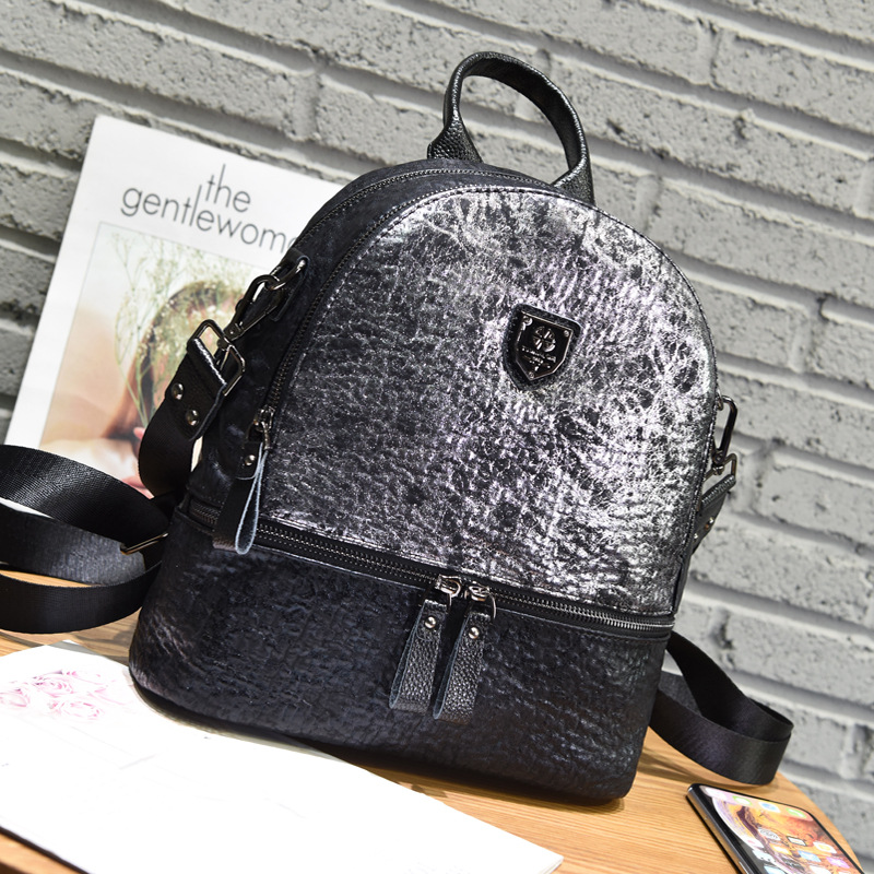 2019 New Small Backpack Women Leather Mochila Feminina Anti Theft Backpack School Bags for Teenage Girls Brand Travel Backpack