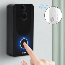 Bell Doorbell-Camera Visual-Intercom Wifi Video Ip-Door Night-Vision Smart Eken V7 1080P