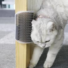 Расческа для питомцев, съемная щетка для кошек, щетка для удаления волос, массажная расческа для ухода за домашними животными, товары для кошек