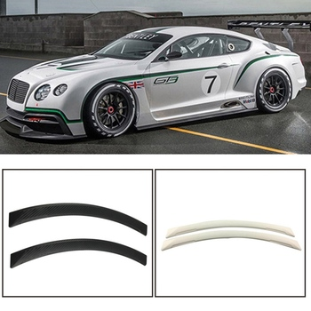 2Pcs Universal Arch Car Wheel Eyebrow Fender Flares Auto Car Mudguard Anti-scratch Protector Strips Car Mud Guard Styling image