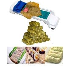 1 шт. творческий растительное мясо прокатки инструмент чучела лист гаджет ролик машина для турецкого Dolma суши Кухня Бар