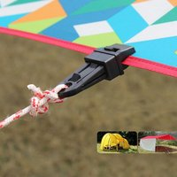 24X reusable plane markise zelt clip heavy duty zange camping überleben werkzeug langlebig qualität super gute produkt nylon zelte-in Zelt-Zubehör aus Sport und Unterhaltung bei