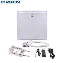 Chafon Long Range Rfid lezer Ingebouwde 12dBi Antenne Ip65 Rs232 Rs485 Wg26 Interface Met Led Indicator Voor Parking toepassing