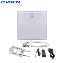 Chafon long range rfid reader built in 12dBi antenna ip65 rs232 rs485 wg26 interface with led indicator for parking application
