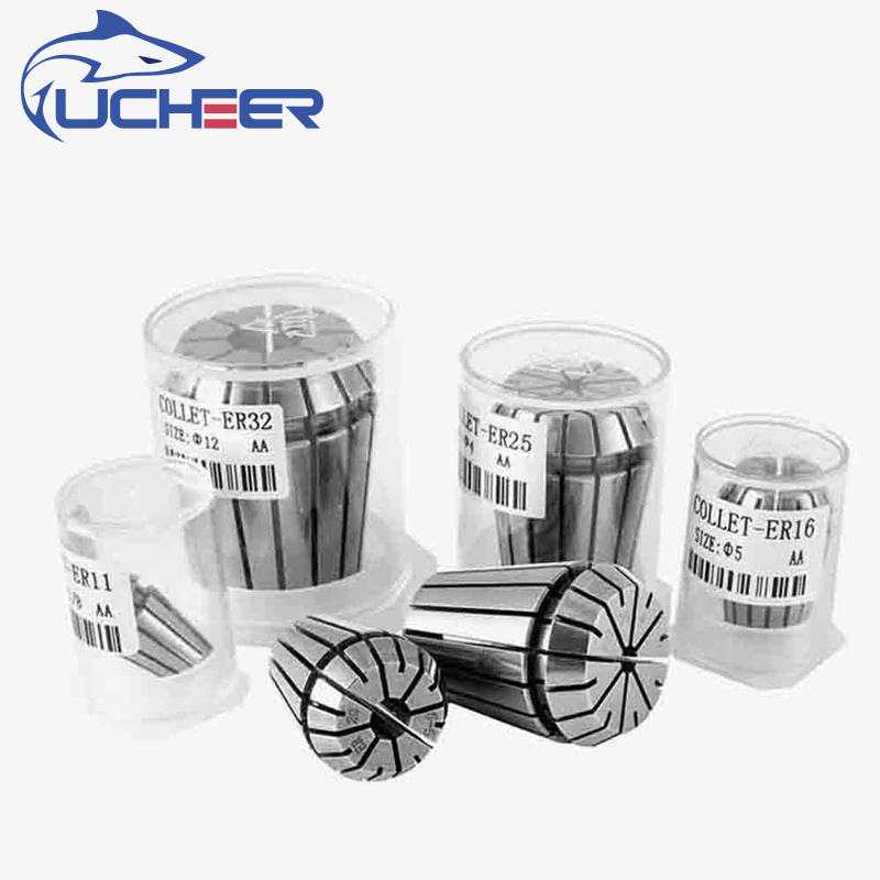 UCHEER 1pc High Precision ER20 Collet Chuck For Milling Engraving Machine Repetitious Tsui Flexible CNC