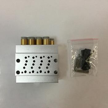 SS5Y3 series SS5Y3-41-06-C4 SS5Y3-41-07-C4 SS5Y3-41-08-C4 SS5Y3-41-09-C4 SS5Y3-41-10-C4 Solenoid valve base фото