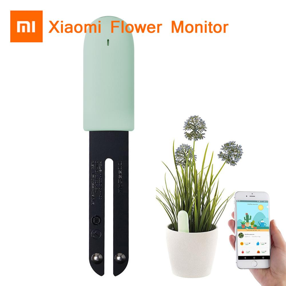 Newest Xiaomi Mijia Mi Flower Grass Monitor Digital Grass Flower Smart Tester Sensor Care Soil Water Light Plant Detector Detect
