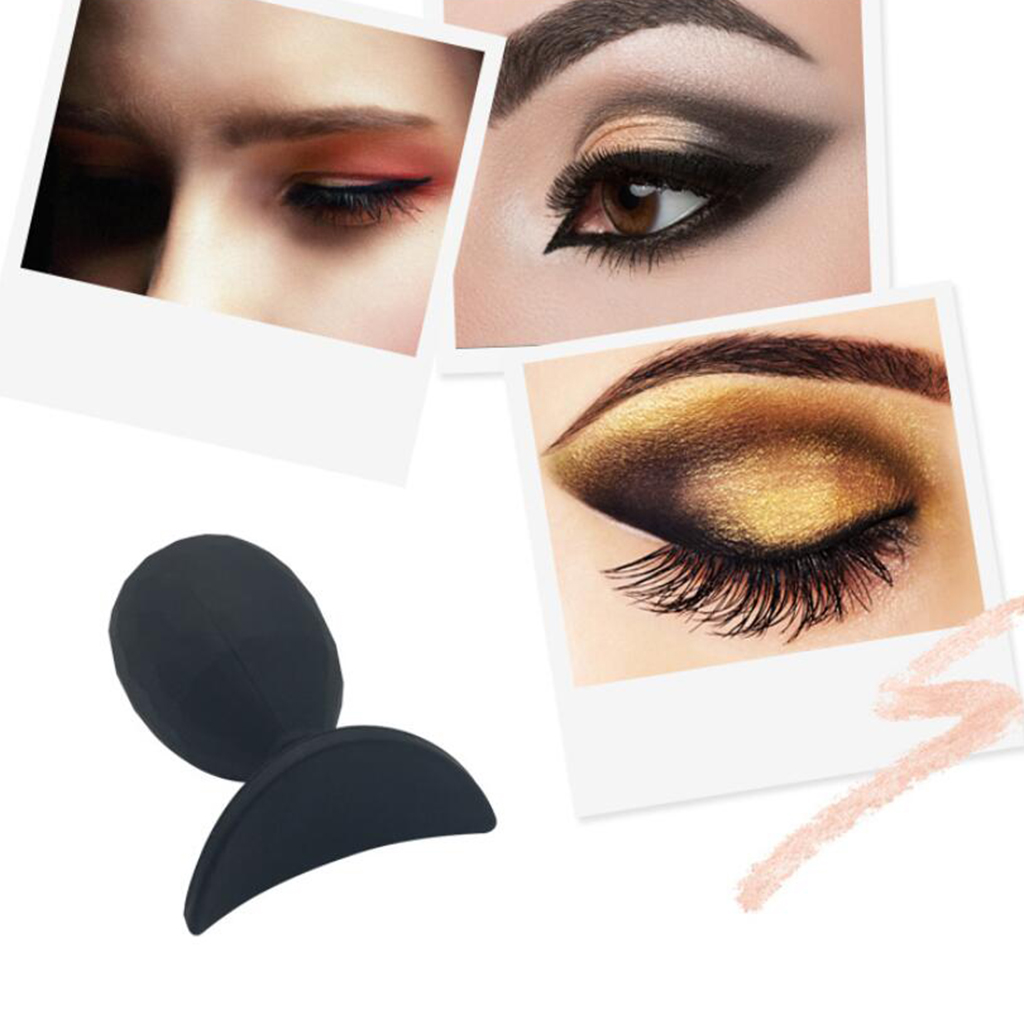 Eyeshadow Silicon Stamp Fashion Silicon Lazy Eye Shadow Stamp Glittering Applicator  Eye Shadow Stamp Crease Makeup Tools