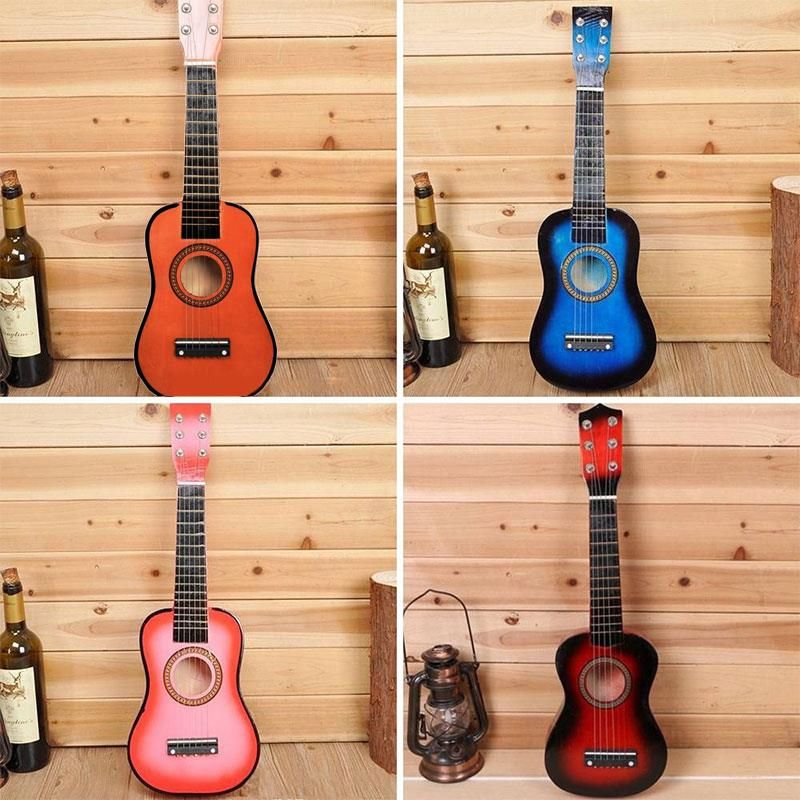 Kids Guitar Kids Toys Guitar Children Hands-On Ability Student 6 Strings 21