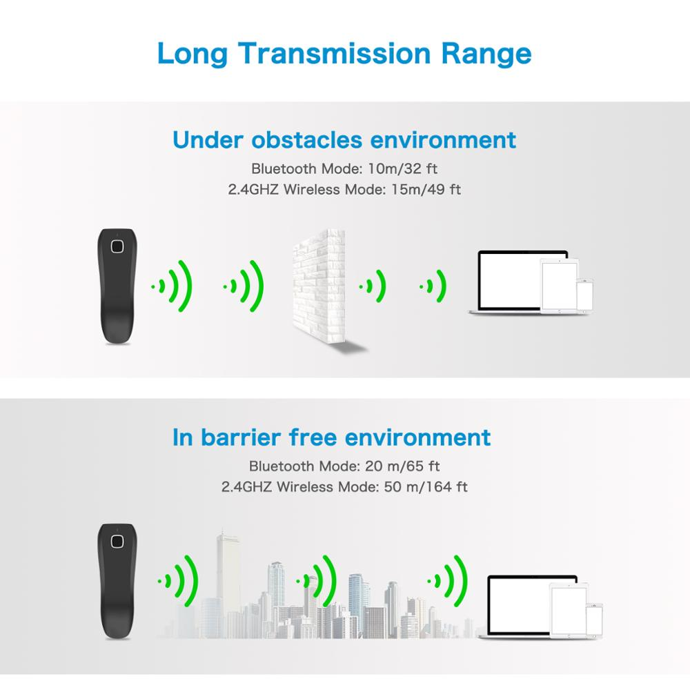 Ultimate SaleöNETUM C750 Bluetooth Wireless 2D Barcode Scanner Pocket QR Bar code Reader PDF417 for Tobacco Garment mobile payment Industry