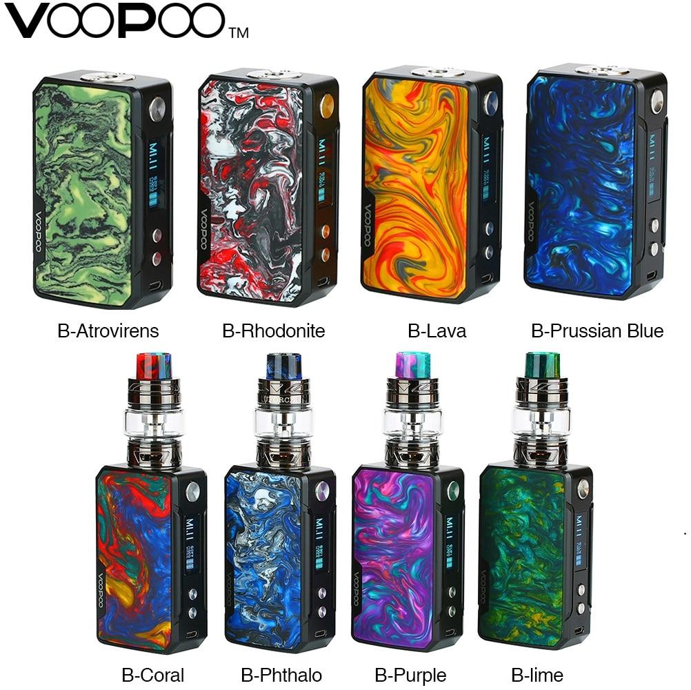 Original VOOPOO Drag Mini 117W TC Kit  & VOOPOO Drag 2 177W TC Box MOD 4400mAh GENE.FIT Chip E-cig Vape Kit/Mod VS Drag 2