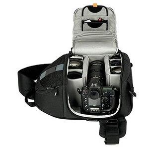 Image 3 - Lowepro مقلاع 300 AW DSLR كاميرا صور حقيبة كتف بحب تعليق مع غطاء الطقس شحن مجاني