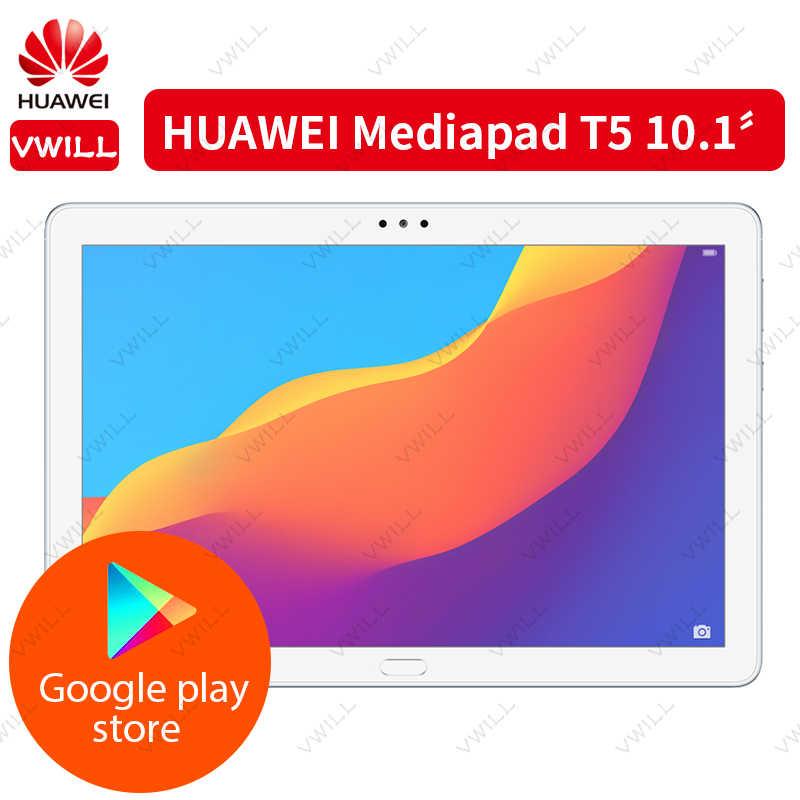 חדש מקורי Huawei הכבוד MediaPad T5 10.1 אינץ tablet PC קירין 659 אוקטה Core 1080p HD תצוגת אנדרואיד 8.0 טביעות אצבע נעילה