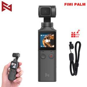 Image 1 - FIMI כף מצלמה 3 ציר 4K HD כף יד Gimbal מצלמה מייצב רק 120g & 128 ° רחב זווית חכם מסלול מובנה Wi Fi שליטה