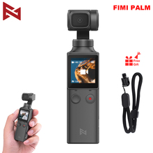 FIMI PALM Camera 3 Axis 4K HD Handheld Gimbal Camera Stabilizer only 120g & 128° Wide Angle Smart Track Built in Wi Fi Control