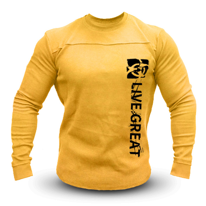 Men's Sweater Pullover Long Sleeve Shirt Casual Wool Shirts Candy Colors For Men Workout