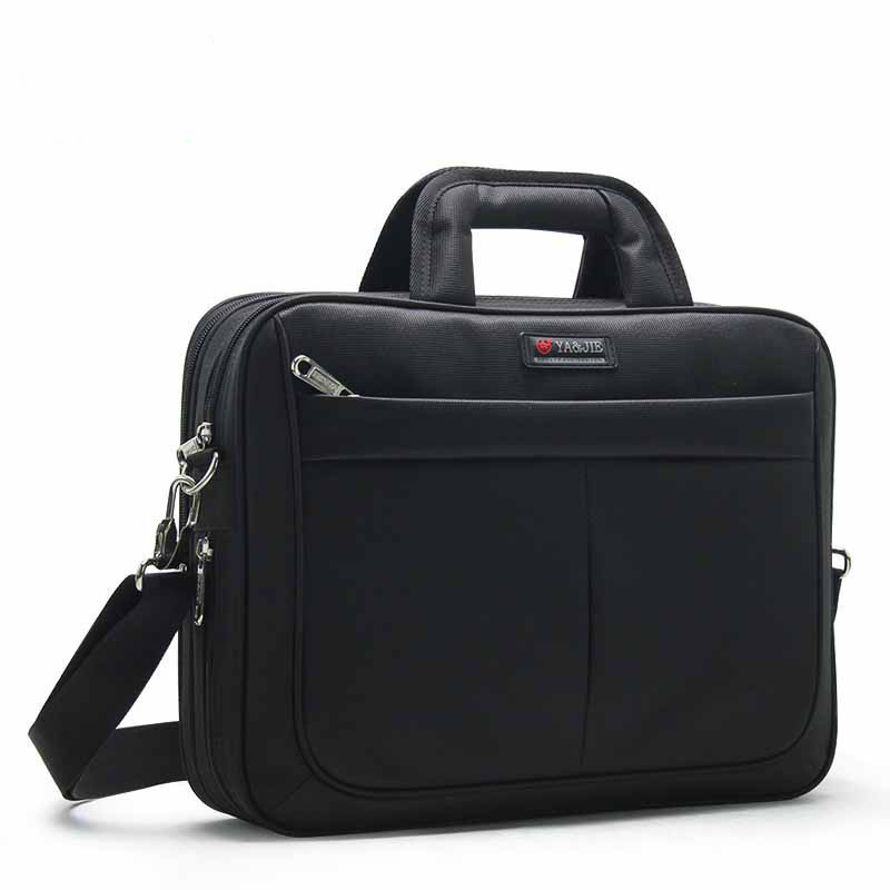 Man Oxford Laptop Briefcase Handbags Women Large Capacity Waterproof Classic High Quality Business Men Briefcase Notebook Bags