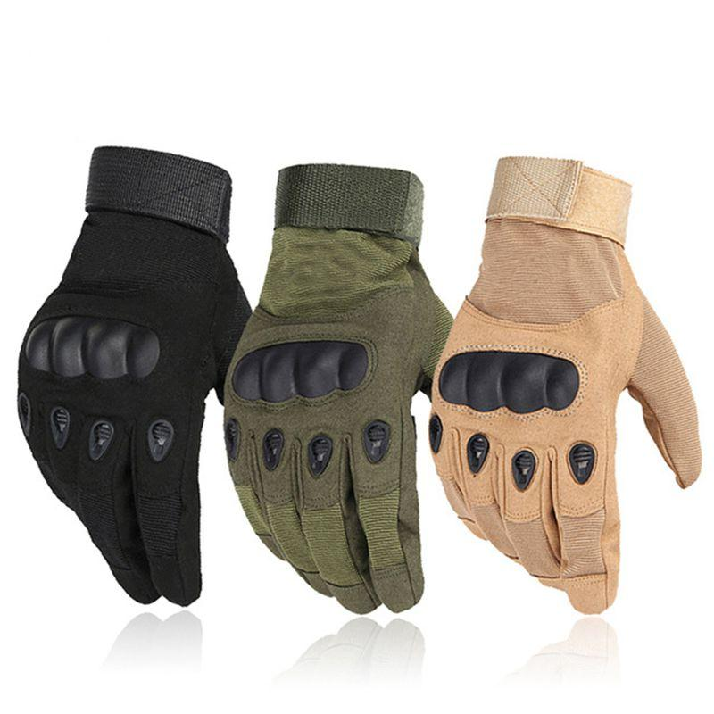 2020 Army Military Tactical Gloves Men Women Paintball Airsoft Shooting Combat Anti-Skid Bicycle Hard Knuckle Full Finger Gloves