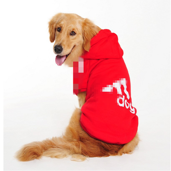 Dog Hoodie Pet Dog Clothes for Big Dogs Pets Clothing Warm Dog Coat Jacket Puppy Pet Clothing for Dogs Sweater Ropa Perro S-9XL image