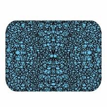 Alfombra de franela Rectangular de grano fino 40*60, alfombra suave lavable, alfombra decorativa para el hogar y la habitación, alfombra antideslizante para el baño