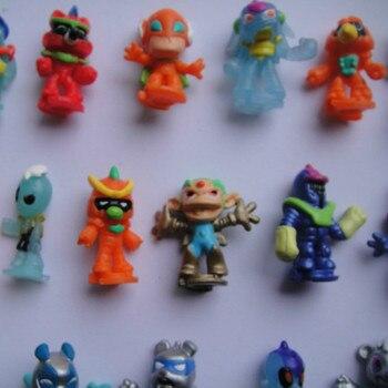 50 unids/lote juguetes alien de 2,8 cm para niños, regalo para niños...