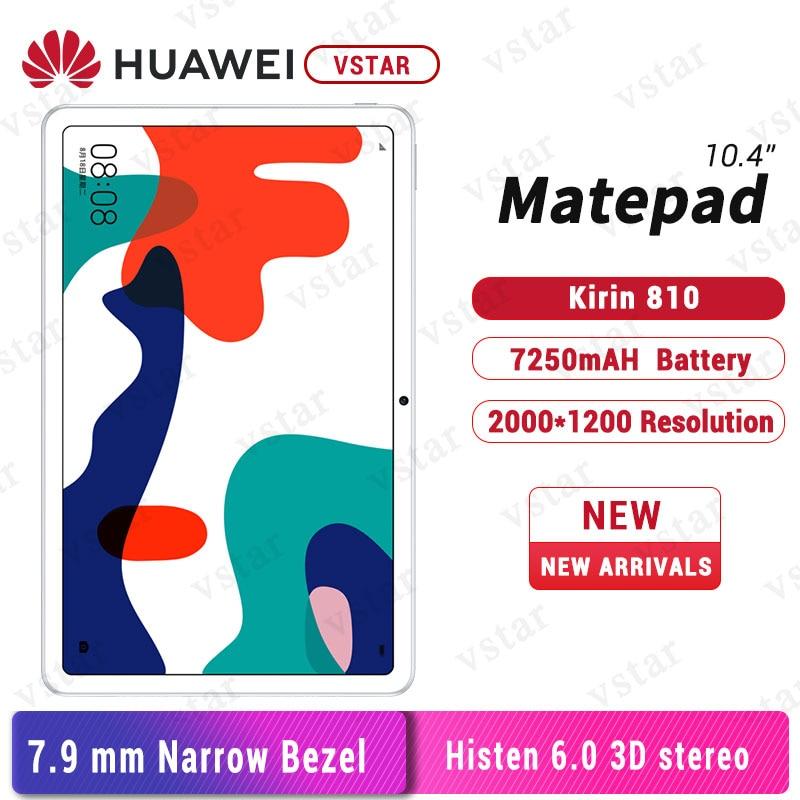 Tablet PC originale Huawei MatePad da 10.4 pollici kirin 810 Octa Core GPU multi-schermo Turbo Android 10 7250mAh