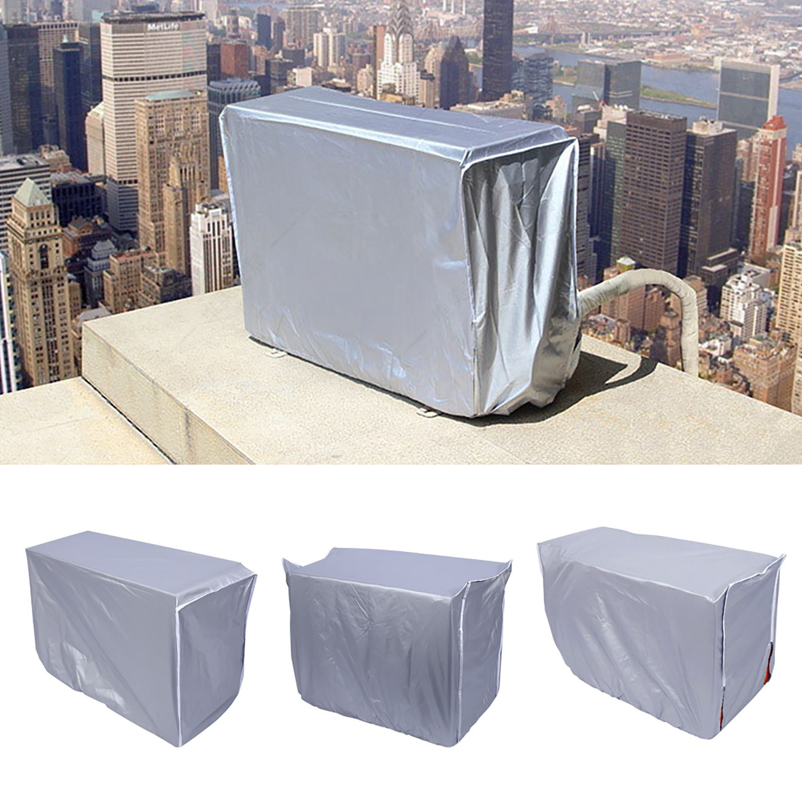 Outdoor Air Conditioner Cover Anti-Dust Anti-Snow Waterproof For Home #1 80*28*54cm Anti-Corrosion Deodorization
