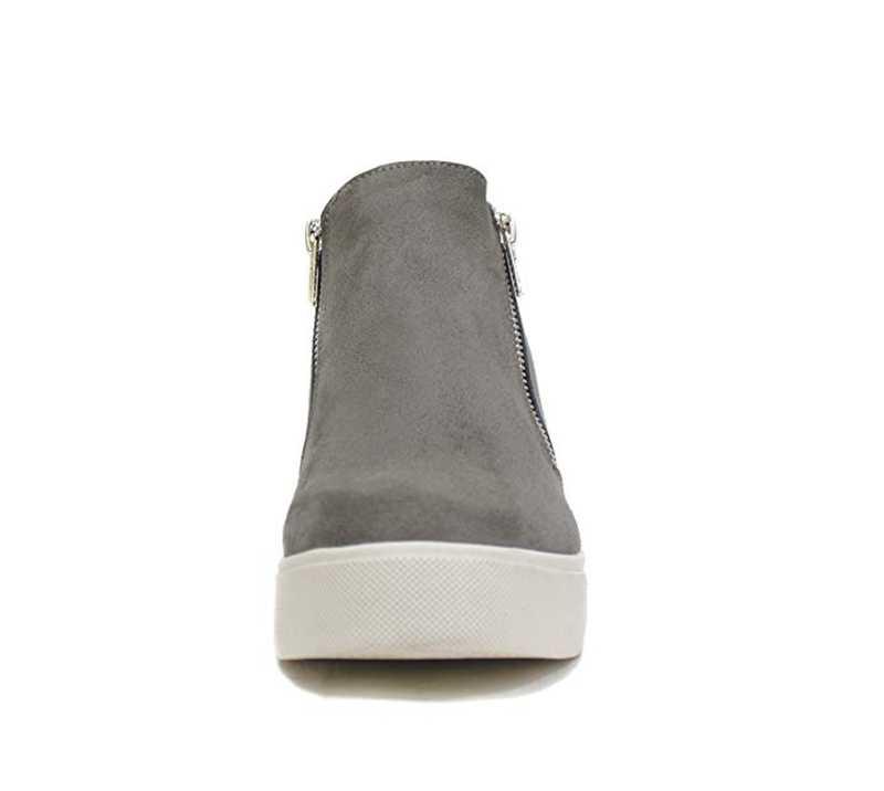 Fujin/ботинки на платформе; женские ботильоны на платформе; сезон осень; женская обувь на высоком каблуке на молнии; Модные женские ботинки; Mujer; 2019