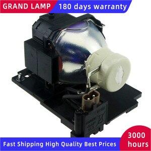 Image 3 - DT01022 / DT01026 uyumlu projektör lamba ampulü HITACHI CP RX78/ RX78W/ RX80/ RX80W/ED X24Z konut ile mutlu BATE