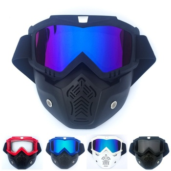 FREE SHIPPING Motorcycle Helmet Retro for Harley Mask Goggles Motocross Racing Riding Cool Glasses Knight Equipment