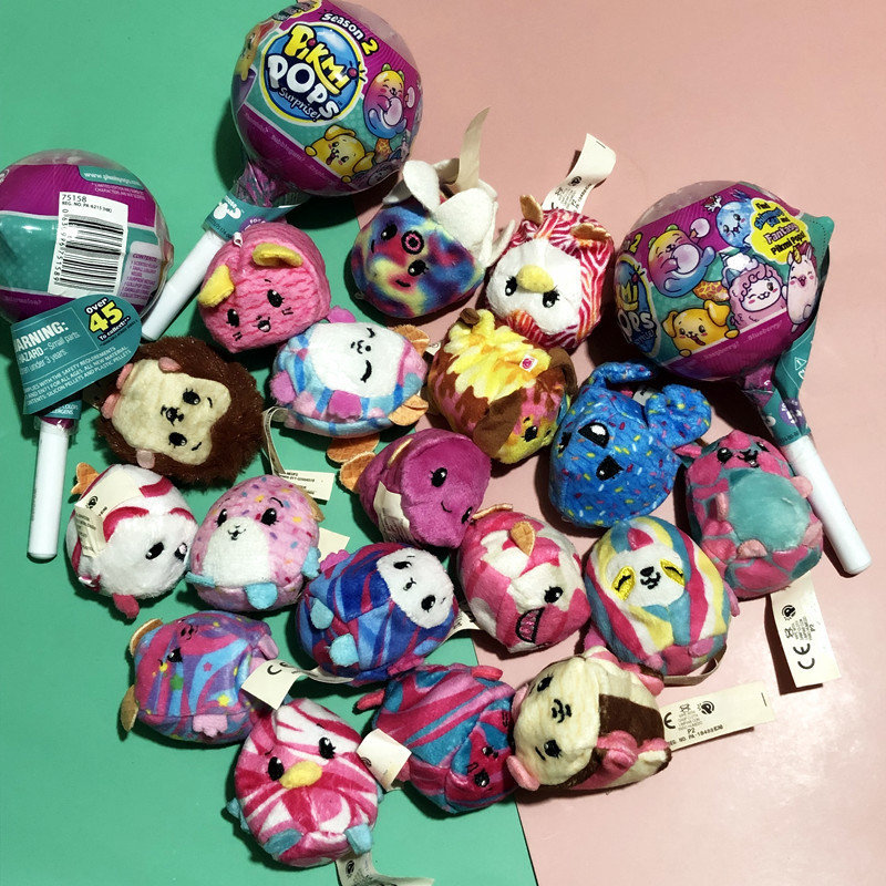 Pikmi Pops Lollipop Blind Box Doll  Plush Fragrance Fabric Animal Cute Sandbag Pendant Bulk
